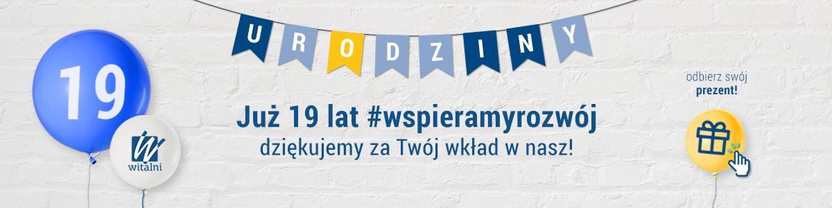 19 lat na rynku - szkolenia biznesowe, szkolenia online, wsparcie dla firm - Witalni.pl