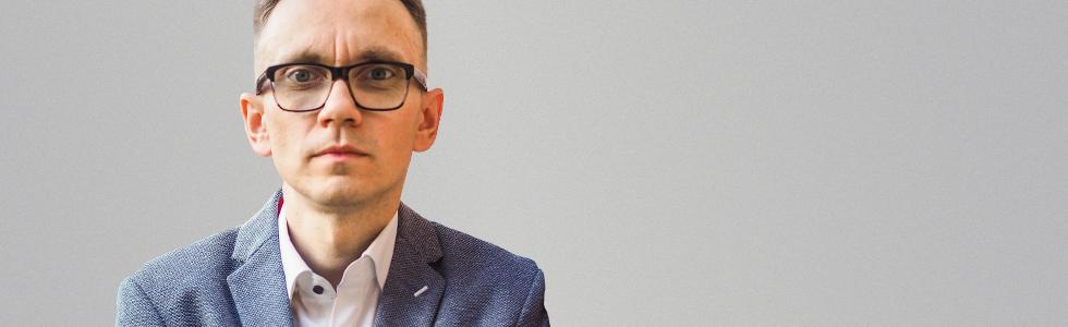 Łukasz Połubianko - trener biznesu oraz kompetencji sprzedażowych i obsługi klienta - Witalni.pl