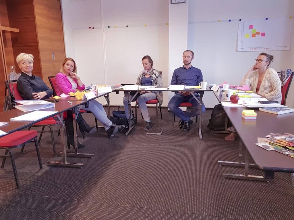Zarządzanie czasem - widok sali szkoleniowej