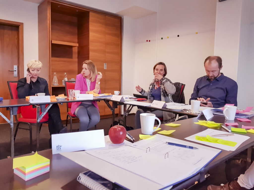 Uczestnicy szkolenia z efektywwnego zarządzania czasem