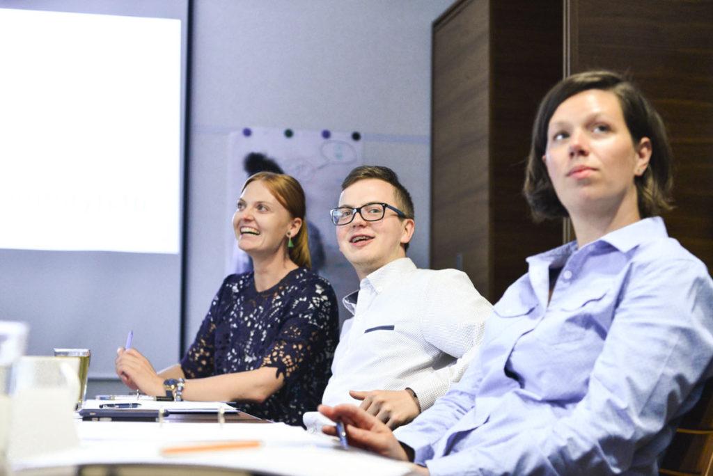 Uczestnicy warszawskiej edycji szkolenia Początkujący menedżer