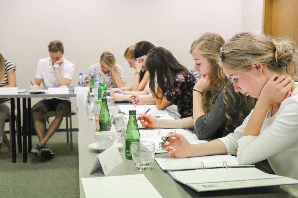 Uczestnicy wrocławskiej edycji szkolenia Obsługa Trudnego Klienta