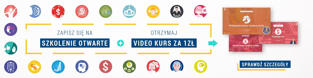 Zapisz się na szkolenie otwarte i otrzymaj wideo kurs za złotówkę! - Witalni.pl